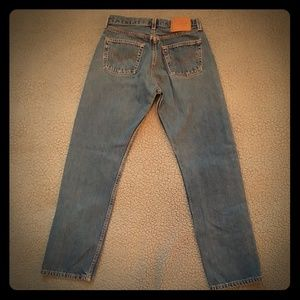 Vintage Levis 501s made in USA